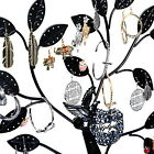 Wholesale Lots Black Earring Tree Bird Nest Jewelry Display Stand Holder