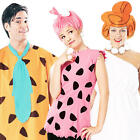 The Flintstones Adults Fancy Dress Cartoon TV Characters Mens Ladies Costumes