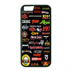 RUBBER CASE FOR iPHONE 6 6s or 6 6s Plus 80S ROCK MUSIC