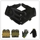 1Pair Unisex Military Tactical Outdoors Sports Shooting Full Finger Gloves -CB