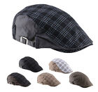 New Men Women Beret Cabbie Newsboy Flat Peaked Baker Hat Gatsby Golf Driving Cap
