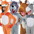 Animal Onesie Kids Fancy Dress Boys Girls Book Week Childrens Costumes Outfits