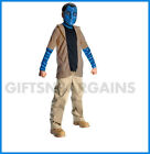 Avatar Dlx Jake Sully Child Costume,Mask,Tail S: Med (5-7yrs), Large (8-10yrs)