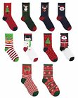 Mens / Ladies Novelty Christmas / Xmas Socks ~ Stocking Filler ~ Santa Penguin
