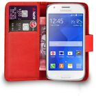 Flip Wallet Leather Case For Samsung Galaxy Trend Plus S7580 + Free Screen Guard