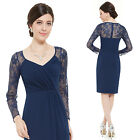 Ever Pretty Women's Fashion Blue Daily Cocktail Homcoming Casual Dresses 05340