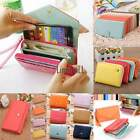 Fashion Womens Leather Bag Purse Wallet Holder Candy Color Handbag 5 Type LM