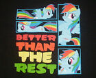 "NEW MENS ""MY LITTLE PONY BRONY BETTER THAN THE REST"" T SHIRT, Character Tee"