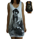 Boy George Vest Tank-Top Singlet (Dress T-Shirt) Sizes S M L XL