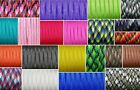 550 PARACORD 7 INNER STRANDS MIL SPEC TYPE III BUSHCRAFT SURVIVAL LANYARD ROPE