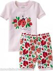 OLD NAVY Girls ~ LADYBUG Pajamas PJs Sleep Set ~ Pink ~ 5T Toddler ~ NEW