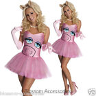 CL326 Miss Piggy Secret Wishes The Muppets Fancy Dress Halloween Adult Costume