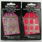 Royal Petite Pre-Glued 24 Nail Tips