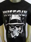 NEW Gangster Mobster skull Wiseguy party tee shirt men's black choose your size