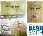 Beadsmith Macrame Board Jewellery Making Choose Small or Large