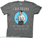 NEW Archer Funny Cartoon I Am Drunk Adult T Shirt SM-XXL Anime FX Network TV