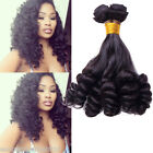 Natural Color VIRGIN BRIZILIAN HUMAN Remy Hair Extension For Ladies Fumi Curly