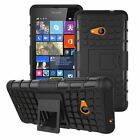 for Microsoft Lumia 535 Nokia 1090 Heavy Duty Hybrid case cover Defender Stand