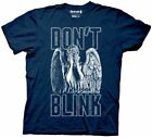 New Dr Who Don't Blink Angel Covering Eyes Adult T Shirt Sci Fi TV Movie