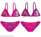 Disney Frozen Anna Elsa Bikini 2 Piece Swimsuit Swimming Costume NEW OFFICIAL