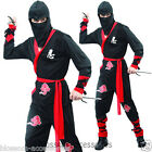 CSW17 Ninja Warrior Costume Chinese Japanese Martial Arts Fancy Dress Outift