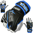 Kyпить MMA Fight Gloves UFC Cage Grappling Glove Boxing Muay Thai Kick MRX Black Blue на еВаy.соm