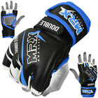 MMA Grappling Sparring Gloves Fight Glove UFC Cage Muay Thai Kick Black Blue MRX