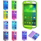 Flip TPU Clear Skin Gel Silicone Case Cover For Samsung Galaxy S3 S4 S5 Note 3 4