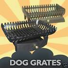 """Cast Iron Coal Fire Dog Grate """"Cavalier"""" For Fireplace Open Fires Multiple Sizes"""