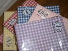 20 Quality Paper Lunch Napkins Gingham Check You Choose Huge Range