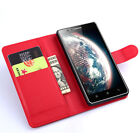 Stand Wallet Leather Case Flip Cover For Lenovo A536 (9Colors) #i