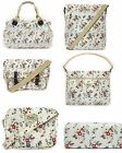 Womens Ladies Bags Vintage Style Summer Daisy Design Oil Cloth Various Styles