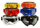 Goggles Glasses Motorcycle off road MotoCross Skiing Eyewear Clear Lens