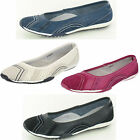 Ladies Down To Earth F8991 Leather Casual Slip On Shoes
