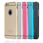 New Luxury Aluminum Ultra-thin Metal Case Back Cover Skin For iPhone 6 6+ Plus