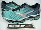 New Mizuno Wave Prophecy 4 (W) Running Womens Shoes Mint Black J1GD150003