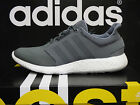 NEW ADIDAS Pure Boost 2.0 Men's Running Shoes - Grey/White;  B33702