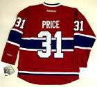 CAREY PRICE MONTREAL CANADIENS REEBOK PREMIER NHL JERSEY NEW WITH TAGS