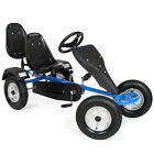 Go Kart Skelter Trapauto blauw 2 persoons gokart