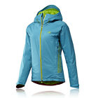 Adidas Terrex Swift 2L CPS Womens Blue Breathable Waterproof Jacket Top Gilet
