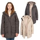 Trespass BLIZZARD Womens Ladies 3 in 1 Fleece Hooded Winter 3in1 Waterproof Coat