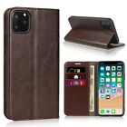 iPhone 6 6S Genuine Real Leather Flip Case Premium Luxury Protective Cover New