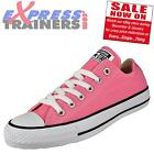 Converse Womens Senior All Star Lo Chuck Taylor Trainers Pink * AUTHENTIC *