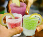 Ice Shot Plastic Frozen Party Drink Glass Mould Tray Freeze Cube Maker Set #264