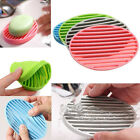 Practical Silicone Soap Dish Plate Hand Wash Soap Holder Tray Storage 4 Colors