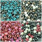 Round Polka-Dot Wooden Beads - 20mm Spotty Ball Jewellery Making