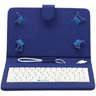 "IRULU 7"" PU Leather Stand Fold Case Cover Keyboard  For 7'' inch Android Tablet"