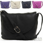 Womens / Ladies Luxury Soft Leather Handbag / Cross Body Bag