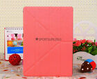 Y Transformer PU leather PC Smart Stand Case Cover for ipad air air 2 5/6 + Film