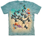 Green Turtle Hatchlings Adult T-Shirt Tee